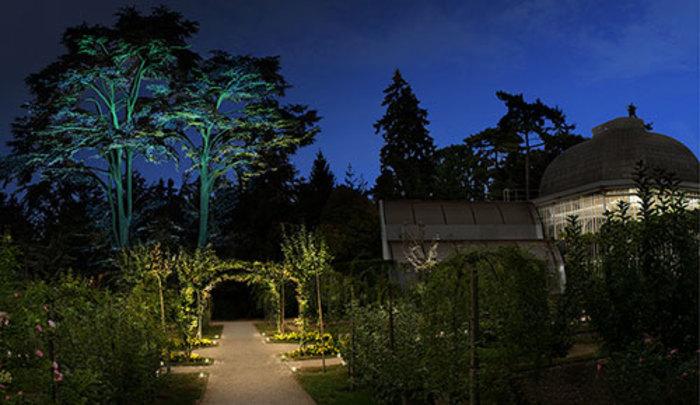 Journées du patrimoine 2019 - Visites poético-décalées dans le jardin illuminé