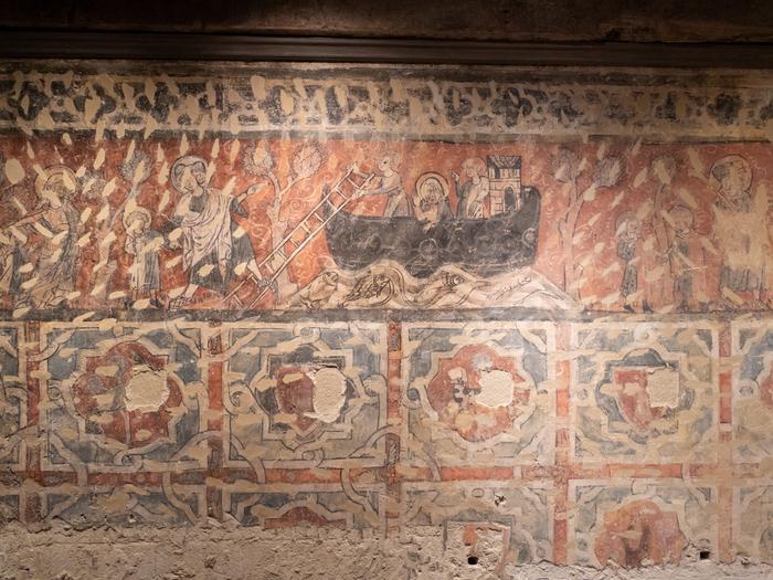 Journées du patrimoine 2019 - Visite guidée de la chambre peinte