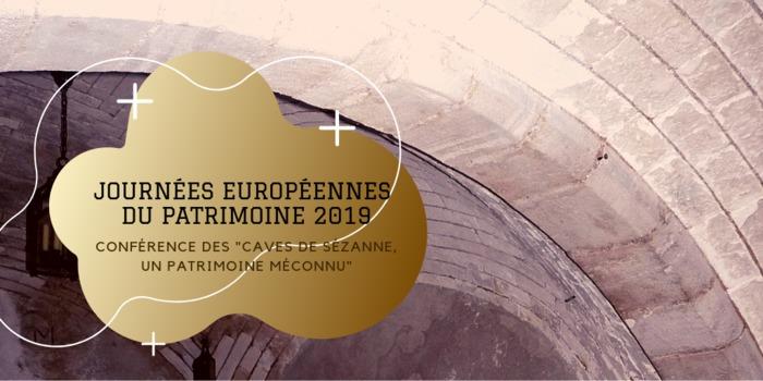 Journées du patrimoine 2019 - Conférence sur le thème des