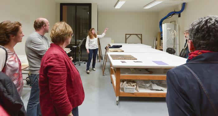 Nuit des musées 2019 -Visite guidée de l'atelier de restauration d'oeuvres