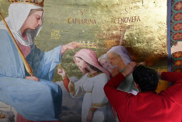 Journées du patrimoine 2020 - Conférence sur la restauration de la chapelle des litanies de la Vierge à Notre-Dame –de-Lorette