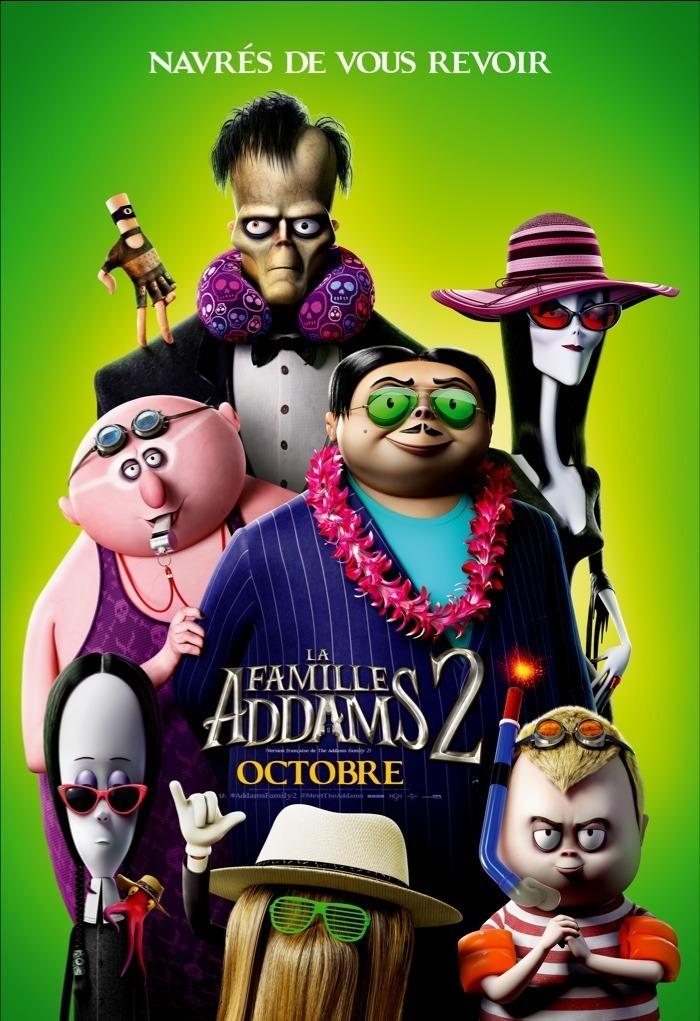 CINÉMOBILE : La famille Addams 2 : une viree d'enfer  - le film à Illiers-Combray mardi 09/11 2021 à 18h00