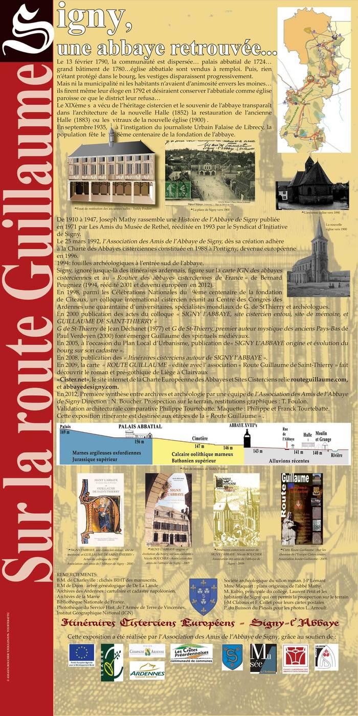 Journées du patrimoine 2019 - Découverte du site de l'ancienne Abbaye de Signy