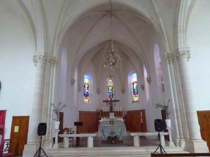 Journées du patrimoine 2020 - Visite de l'eglise Notre Dame de les Chapelles (19ème)