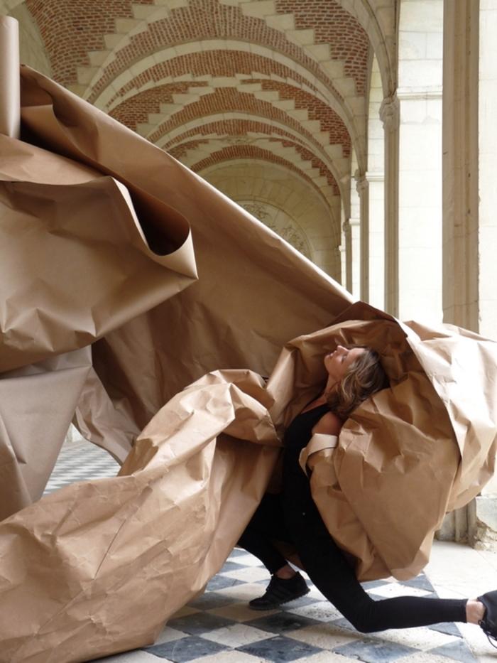 Journées du patrimoine 2020 - Atelier participatif autour du spectacle de danse «Papier.1»