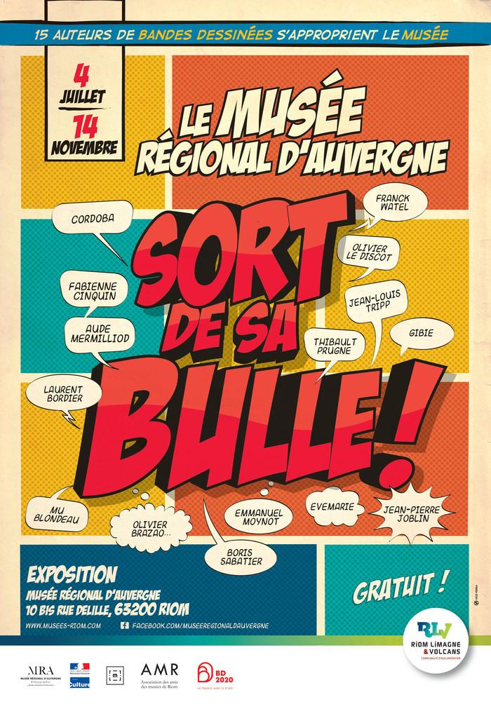 Journées du patrimoine 2020 - Visite commentée : exposition Le Musée régional sort de sa bulle !