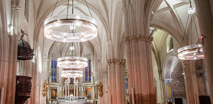 Journées du patrimoine 2020 - Visite d'un atelier de création de luminaires en verre pour les monuments historiques