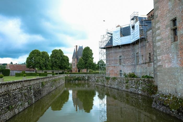 Journées du patrimoine 2019 - Visite libre du château de Carrouges et découverte exceptionnelle des coulisses des travaux de restauration!