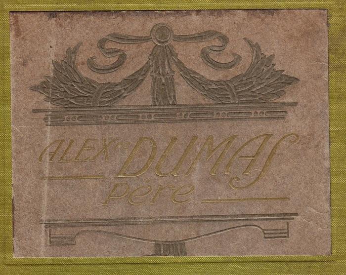 Album spécimen Alexandre DUMAS père