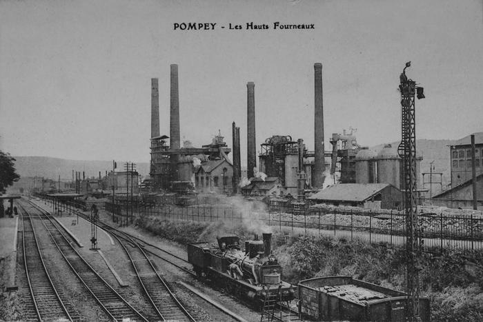 Journées du patrimoine 2019 - Promenade commentée: Pompey de la fonte à l'acier, 100 ans de savoir-faire