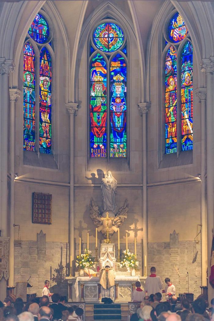 Journées du patrimoine 2019 - Visite guidée de l'église Notre-Dame des Armées