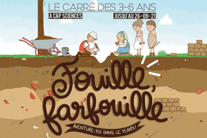 Fouille, Farfouille : Aventure-toi dans le temps !