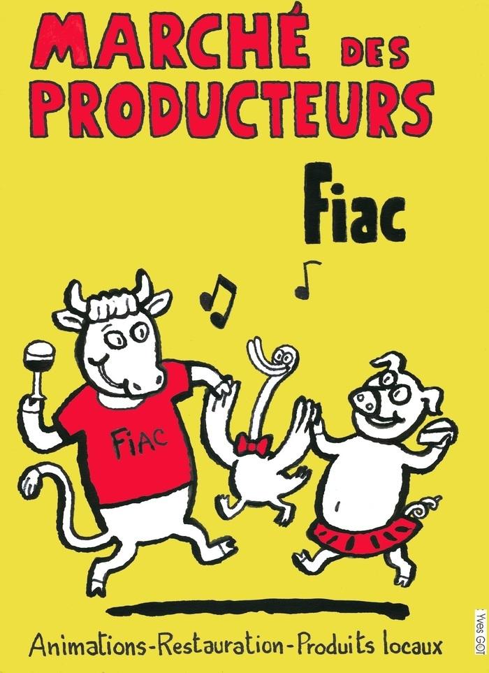 Marché de producteurs de Fiac à Brazis