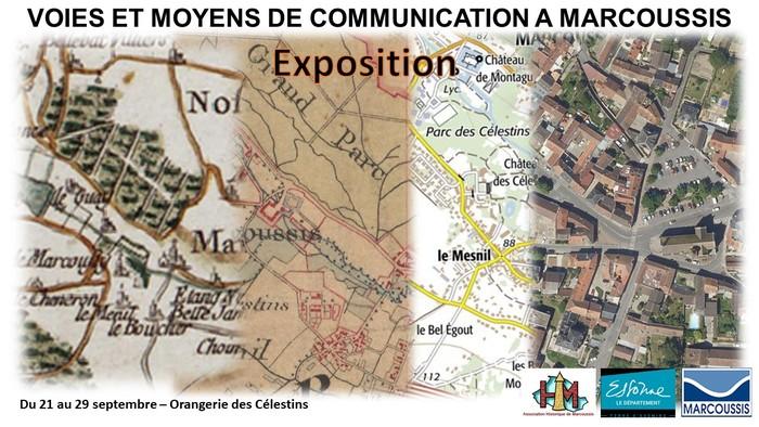 Journées du patrimoine 2019 - Exposition sur les voies et chemins de Marcoussis