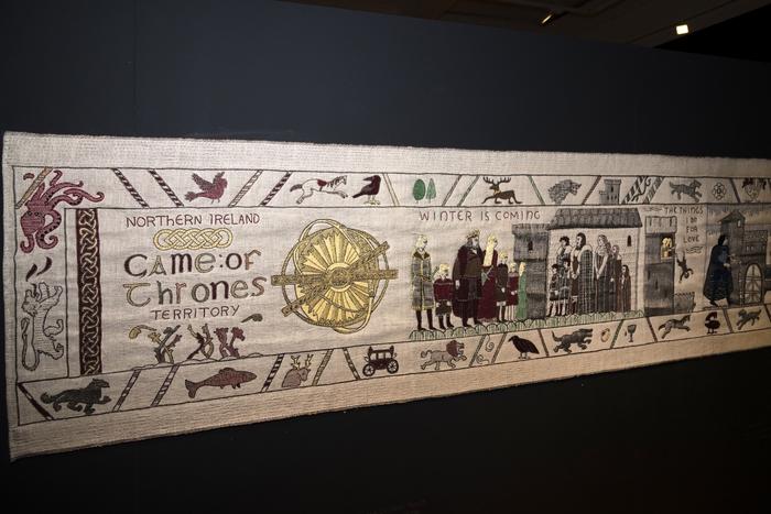 Journées du patrimoine 2019 - Exposition Tapisserie de Game of Thrones® à Bayeux