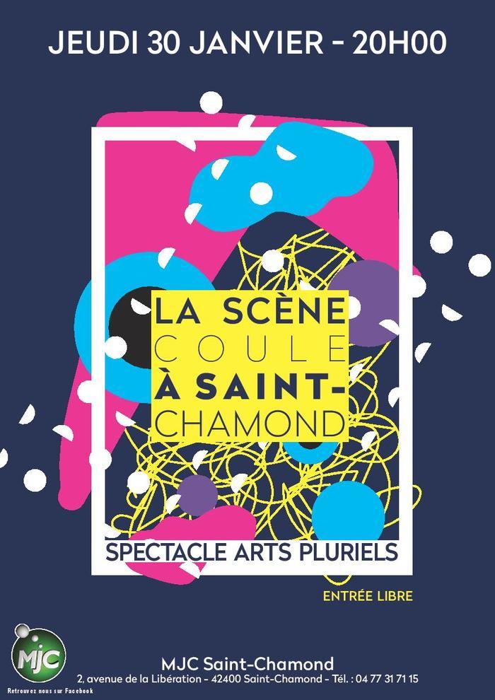 La scène coule à Saint-Chamond