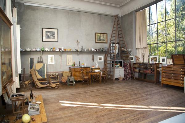 Nuit des musées 2019 -Visites commentées de l'Atelier du peintre de 19h00 à 23h30