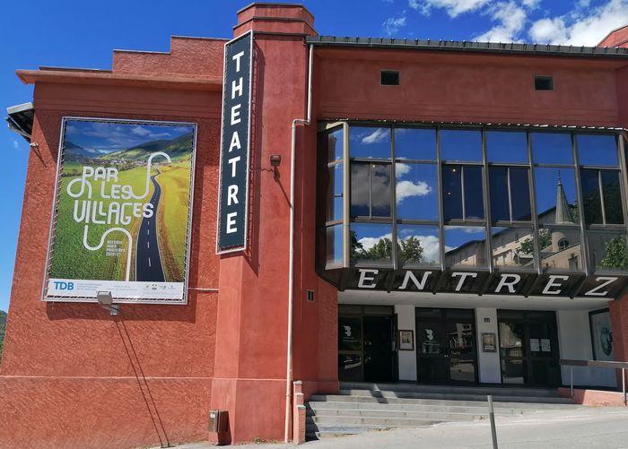 Journées du patrimoine 2020 - Visite guidée du Théâtre Du Briançonnais