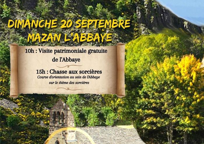 Journées du patrimoine 2020 - Chasse aux sorcières à l'abbaye de Mazan (course d'orientation)