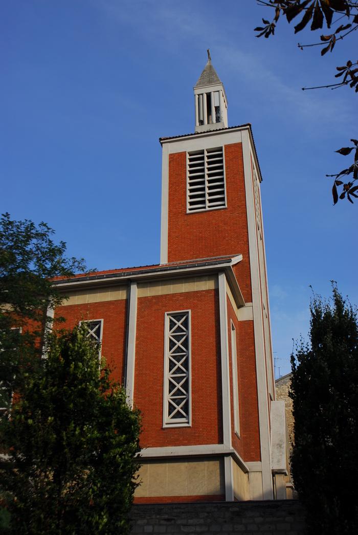 Journées du patrimoine 2020 - Visite virtuelle : l'église Sainte-Thérèse-de-l'Enfant-Jésus