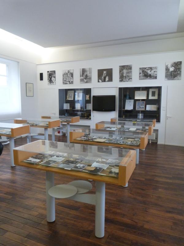 Nuit des musées 2019 -Maison de l'écrivain. La salle de classe où le poète René-Guy Cadou a enseigné. Ce lieu retrace la vie du poète et évoque son œuvre.