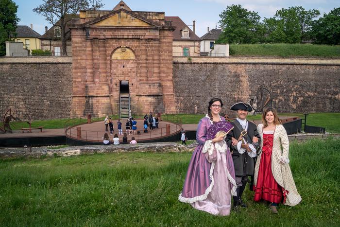 Journées du patrimoine 2019 - Visite guidée de Neuf-Brisach avec guide en costume d'époque