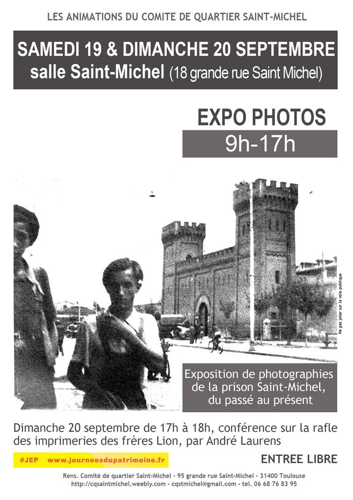 Journées du patrimoine 2020 - Exposition de photographies et conférence