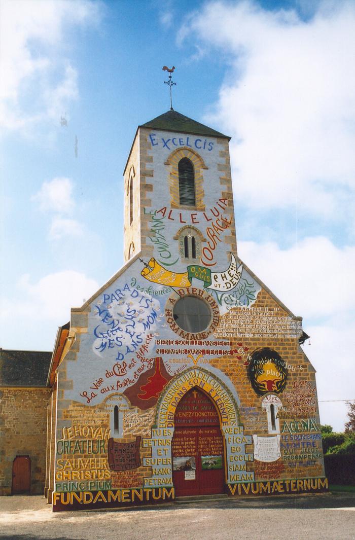 Journées du patrimoine 2019 - Visite libre de l'église vivante et parlante de Ménil-Gondouin