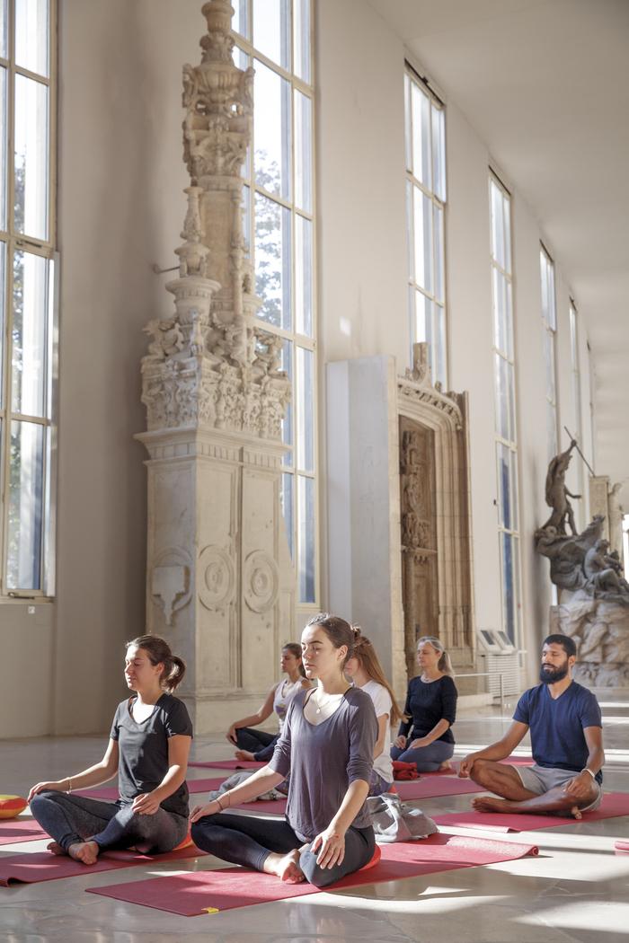 Journées du patrimoine 2020 - Atelier découverte de yoga et architecture