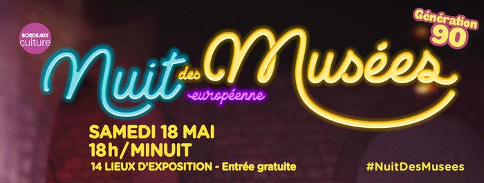 Nuit des musées 2019 -Fil rouge « Génération 90 »