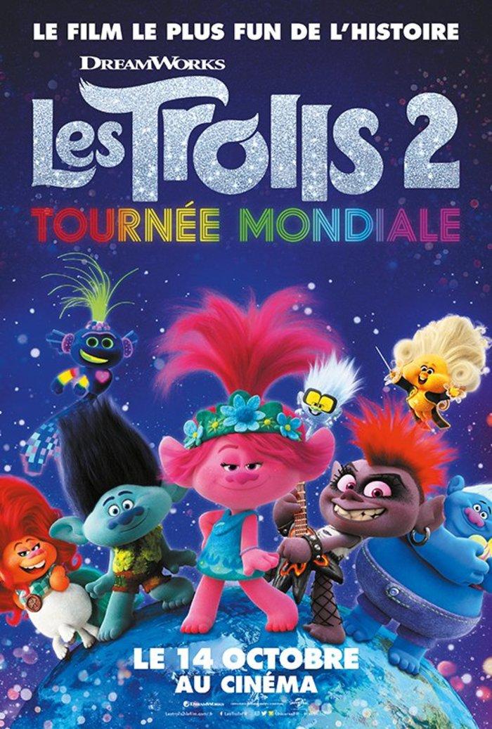 CINÉMA : Les Trolls 2 - Tournée mondiale