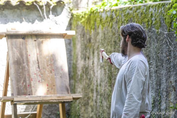 Journées du patrimoine 2019 - Démonstrations et initiations par la troupe médiévale Terres d'Aurea