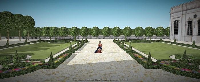 Journées du patrimoine 2020 - Conférence de Franck Devedjian : Le château et les jardins disparus de Clagny