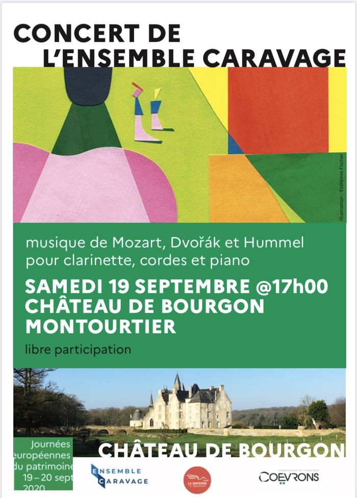 Journées du patrimoine 2020 - Concert de l'ensemble CARAVAGE