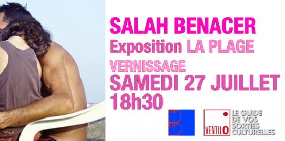 Le photographe Salah Benacer présente l'exposition La plage.