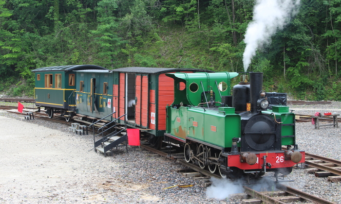 Journées du patrimoine 2020 - Découverte de «la Suzanne», patrimoine ferroviaire
