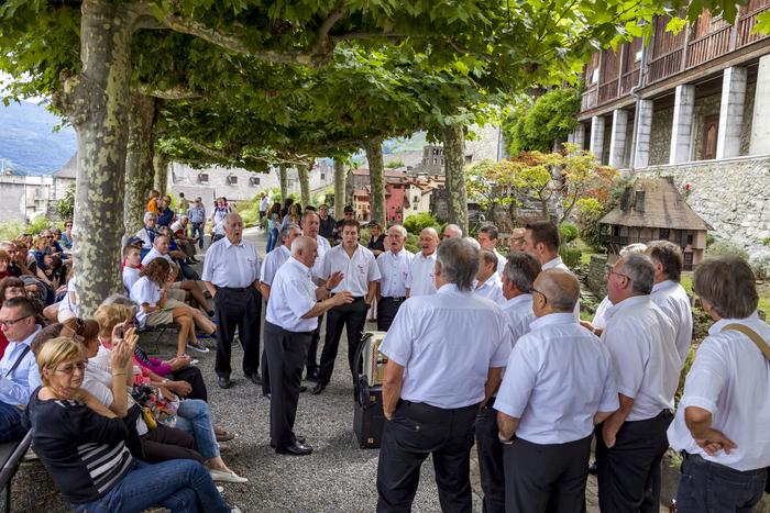 Journées du patrimoine 2020 - Les chanteurs gascons en déambulation