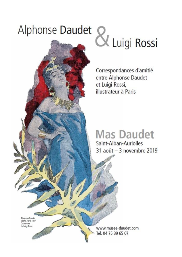 Journées du patrimoine 2019 - Sapho, Alphonse Daudet et Luigi Rossi, correspondances d'amitié