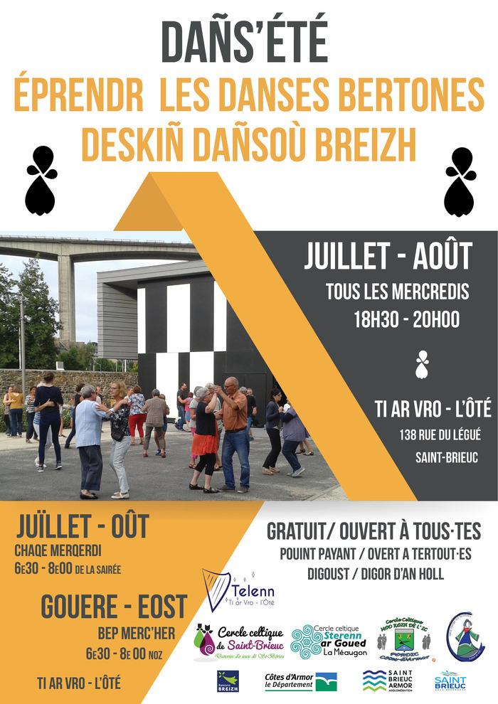 Dañs'été - Initiation aux danses bretonnes