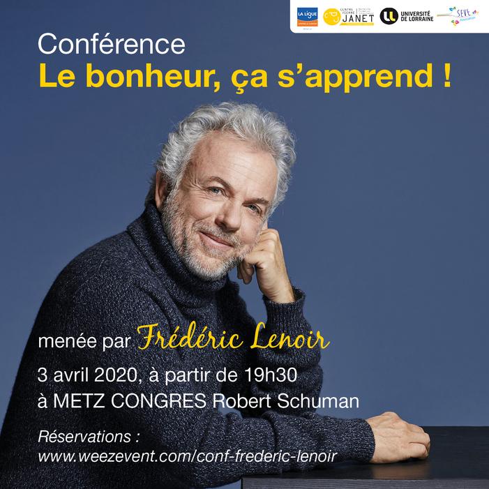 [Conférence] Frédéric Lenoir
