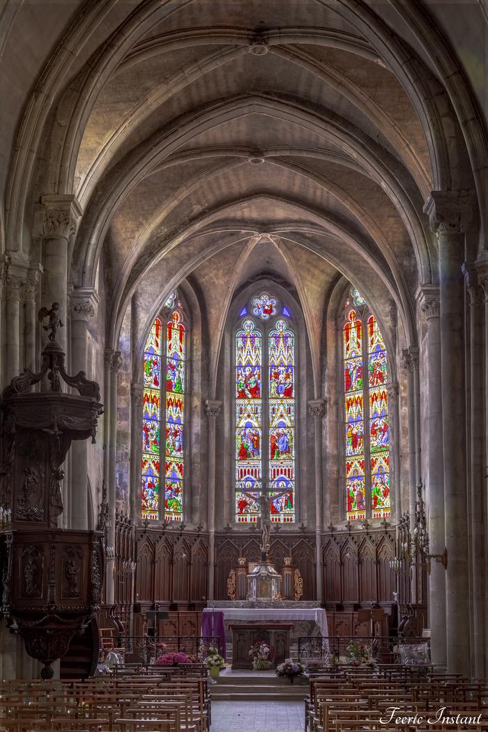 Journées du patrimoine 2020 - Centre Historique de Neufchâteau : visite de l'église Saint-Nicolas
