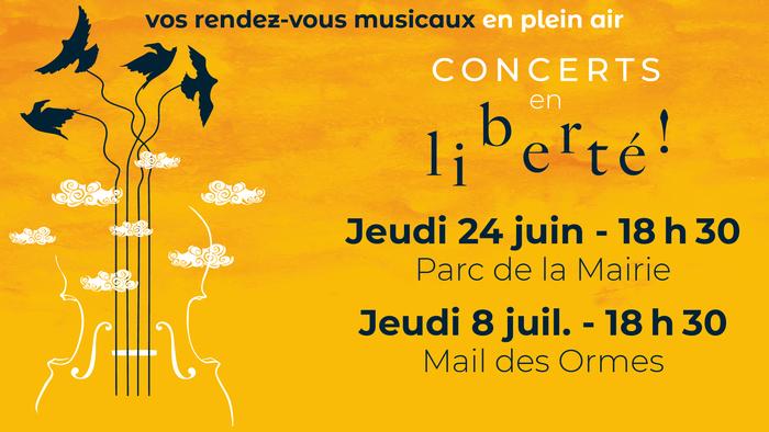 Concerts en liberté
