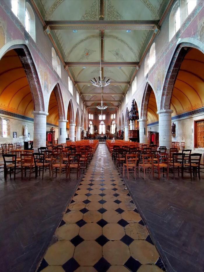 Journées du patrimoine 2020 - Visite libre de l'église Saint-Léonard