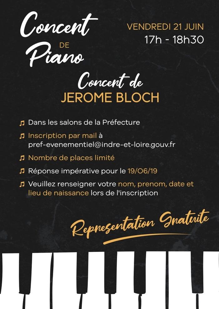 Fête de la musique 2019 - Récital de piano dans les salons de la Préfecture
