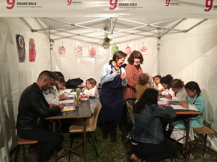 Journées du patrimoine 2019 - Atelier famille d'art plastique