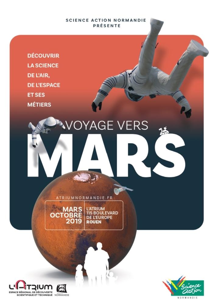 Journées du patrimoine 2019 - Exposition « Voyage vers Mars »