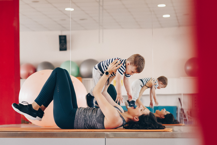 Journées du patrimoine 2019 - Séance gym parent/bébé