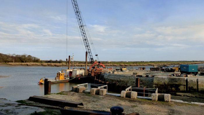 ANNULÉ - Formes de radoub: le chantier du môle central de l'arsenal