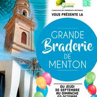 Menton - Grande Braderie de la Saint-Michel - Menton Sourire