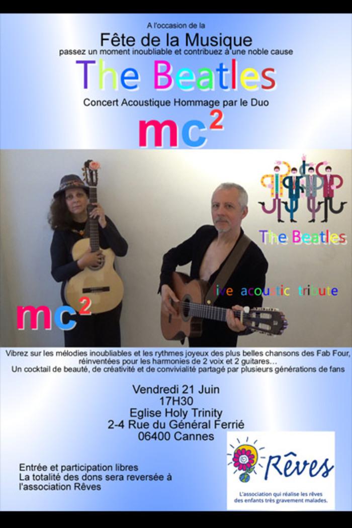 Fête de la musique 2019 - The Beatles, hommage par le duo MC2